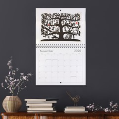 2020 Calendar- This Papercut Life- large