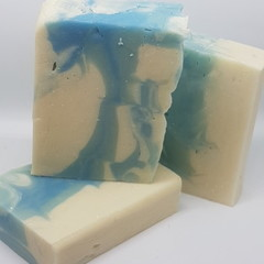 Handmade Coconut & Olive Oil Soap - Breezy Rain