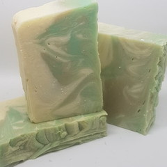 Handmade Coconut & Olive Oil Soap - Zesty Lime
