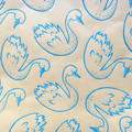 Handprinted wrapping paper| baby boy, Christmas gift wrap, holiday gift wrap