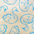 Handprinted wrapping paper  baby boy, Christmas gift wrap, holiday gift wrap