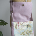 the Everyday Satchel - floral blush