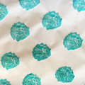 Handprinted wrapping paper   scrapbooking, Christmas gift wrap, coastal