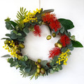 Colourful Australian Native  Wreath - Christmas Wreath- Family Christmas Gift