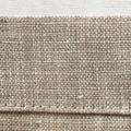 Two linen napkins   Christmas napkins, reusable napkins, block printed