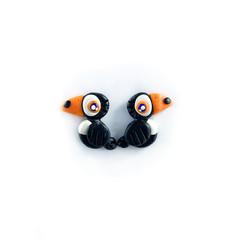 Super Studs - Toucan Earrings