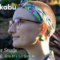 Super Studs - Scarlet Macaw Earrings