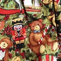 Size 0000 Christmas Nappy Pants and Appliqued Singlet