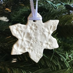 1x Snowflake Christmas Decoration