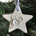 1x Star 3D Christmas Decoration
