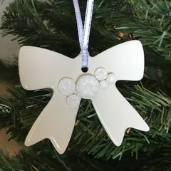 1x Bow 3D Christmas Decoration