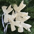 1x Bow Christmas Decoration