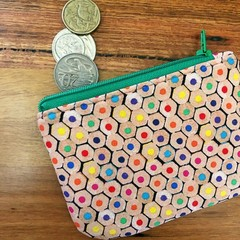 Coin purse - pencil ends