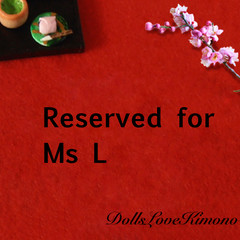 Japanese Indigo kimono set ( RESERVED for Ms. L )