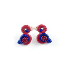 Super Studs - Australian Crimson Rosellas