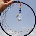 Moon dream catcher - dreamcatcher - sun catcher - wall hanging
