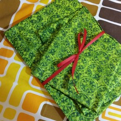 Handy Bags- Retro Green Motif