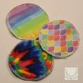 Breast pads, reusable pads, nursing set of 1