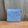 Upcycled denim coin purse - small