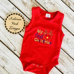 Baby Embroidered Onesie