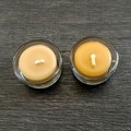 Romantic candle gift set. Australian beeswax  wedding/ engagement present.