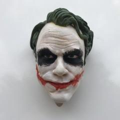 The Joker (Heath Ledger) 3D fridge magnet in resin / Joker Fridge Magnet