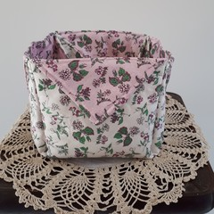 Fabric Storage Basket, Nursery, Toy Holder, Bread Roll Basket, Craft Room
