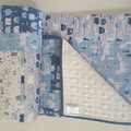 Nursery decor/baby shower gift/baby quilt/cot quilt