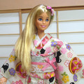 doll clothes 'Lovely kittens' kimono set for 12' fashion dolls handmade