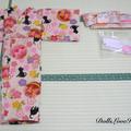 doll clothes 'Lovely kittens' kimono set for 12' fashion dolls handmade