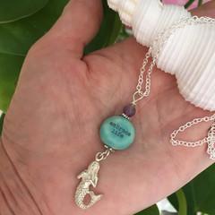 Embrace Life  Mermaid Necklace