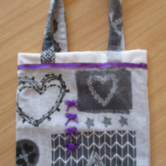 SMALL CARRY ALL TOTE BAG Fully Lined