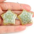 Snowflake Star earrings