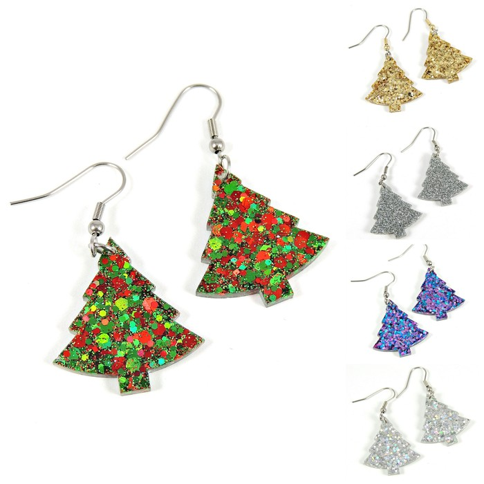 Christmas Tree Earrings Dream Jewels By Cath On Madeit