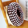 Giant Donut Cushion Pillow