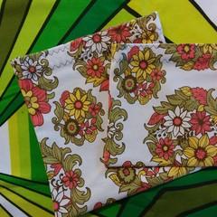 Handy Bags- Retro floral print