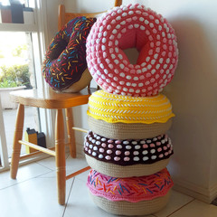 Giant Donut Cushion Pillow