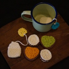 Crochet Afternoon tea set (1)
