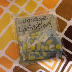 Luggage Bag Travel ID Identifiers