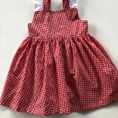 Lovely cotton soft dress for a two year old.