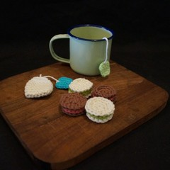 Crochet Afternoon tea set (4)