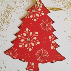 Christmas Tree Gift Tags - 12 Pack
