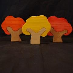Autumn inspired tree set