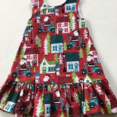 A Christmas dress for a sophisticated 5 year old
