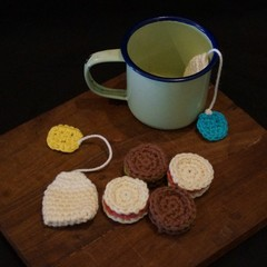 Crochet Afternoon tea set (2)