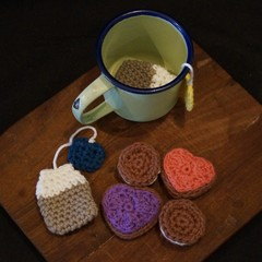 Crochet Afternoon tea set (3)