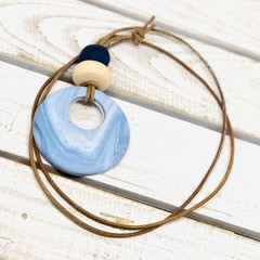 ECLIPSE necklace\\SkyBlue