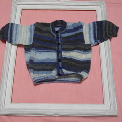 Hand Knitted Baby Cardigan/Jacket