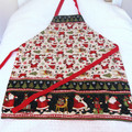 Christmas apron, adjustable OSFA