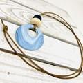 ECLIPSE necklace\\SkyBlue